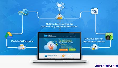 A MultCloud segítségével több felhőfiók és meghajtó kezelhető