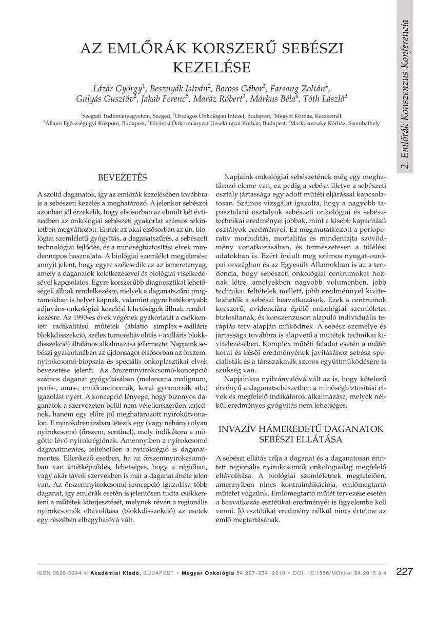 Vénás thromboembolia daganatos betegekben: a válasz nyomában (áttekintés)
