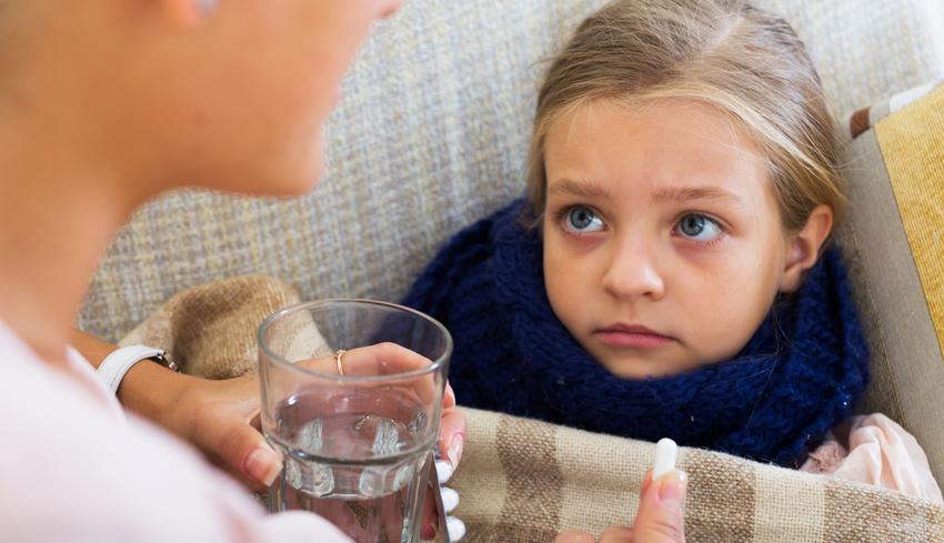 Torokfájás gyerekeknél