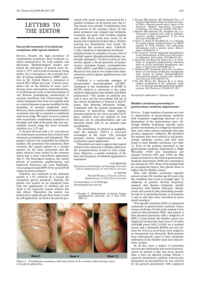 condylomata acuminata behandlung krém tabletta