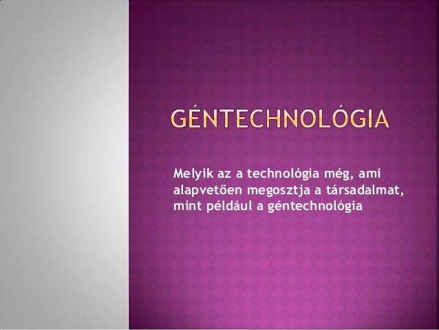 Géntechnológia és fehérjemérnökség   Digitális Tankönyvtár