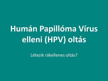hpv vírus meghatározása